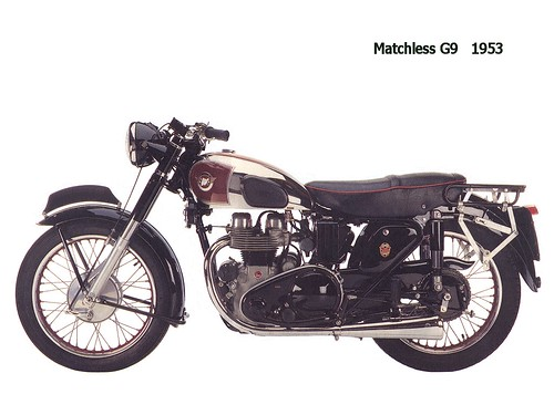Matchless G9 - 1953