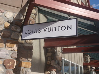 Louis Vuitton, Sinage | by PinkMoose