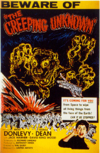 Creeping Unknown, The (Poster)