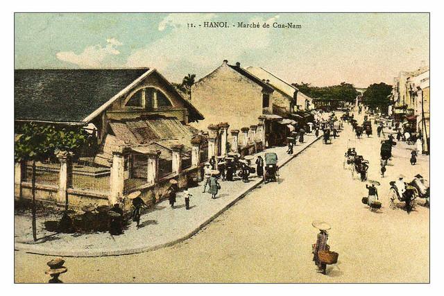 HANOI - Marché de Cua-Nam