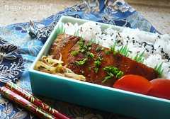 Paper Salmon 1 Photos | lachs-teriyaki-obento | 436