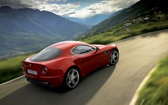 ferrari california(0.0), automobile(1.0), alfa romeo(1.0), vehicle(1.0), automotive design(1.0), alfa romeo 8c(1.0), alfa romeo 8c competizione(1.0), land vehicle(1.0), luxury vehicle(1.0), supercar(1.0), sports car(1.0),