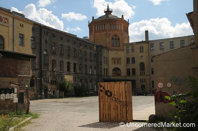 Courtyard of the Art Gallery C/O in Mitte, Berlin
