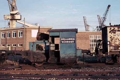 Locomotor Hollandia Schroot, 1974. | by appearances can be deceptive