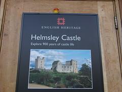 Helmsley Castle-Yorkshire.