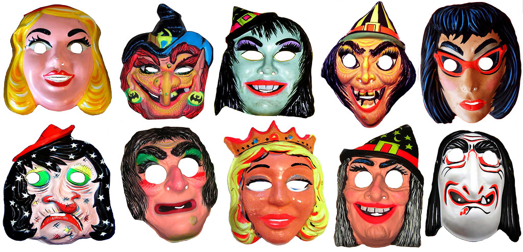 Halloween Evil Witch Masks 0131