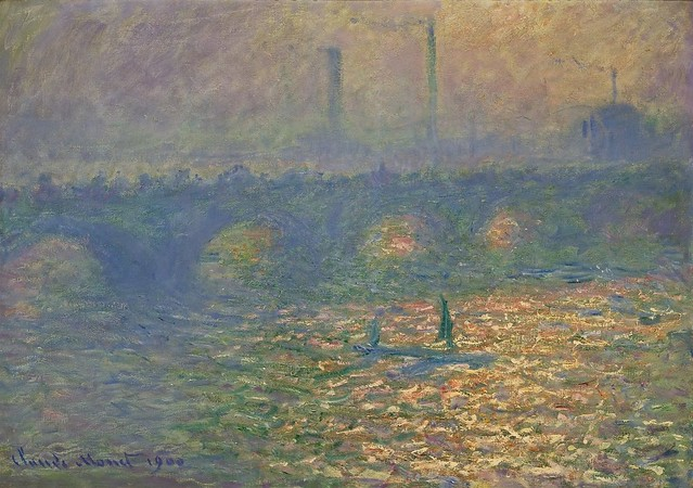 Londres, Waterloo Bridge (C Monet - W 1555)