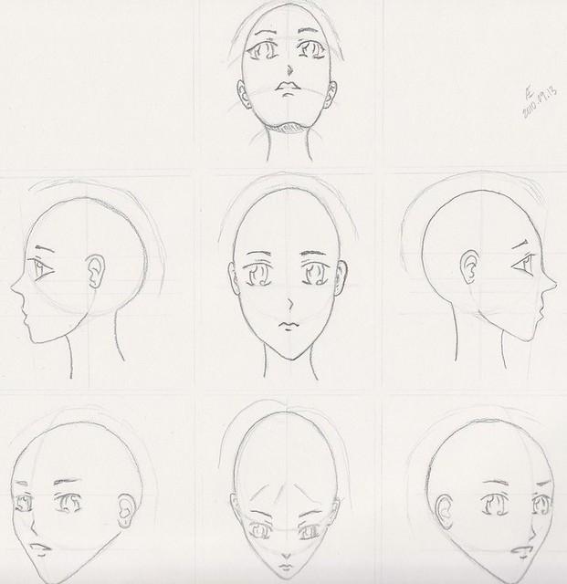 manga character template - photo