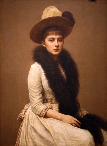 Portrait of Sonia by Henri Fantin-Latour by cliff1066™