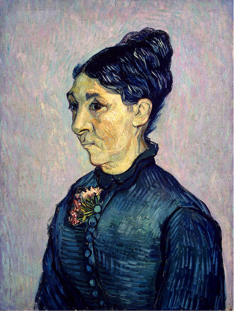 Vincent van Gogh: Portrait of Madame Trabuc (1889)