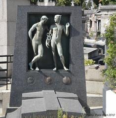 Cimetiere de Passy, Paris.
