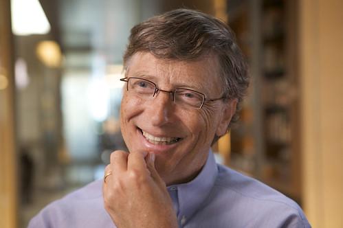 Bill Gates: co-fondateur de Microsoft