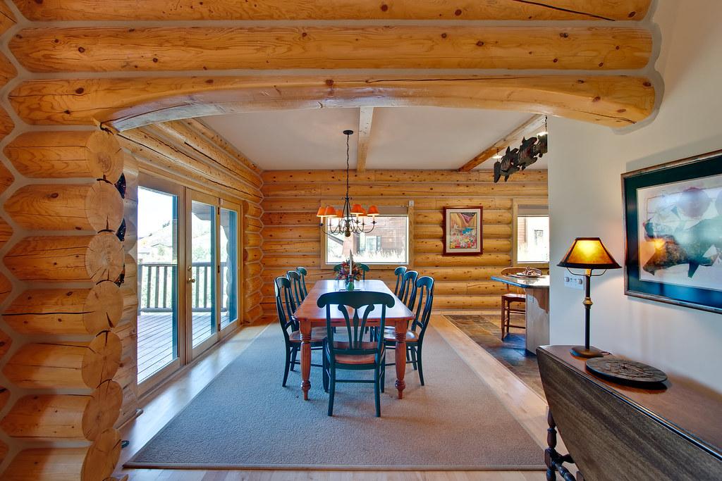 Log Dining Room