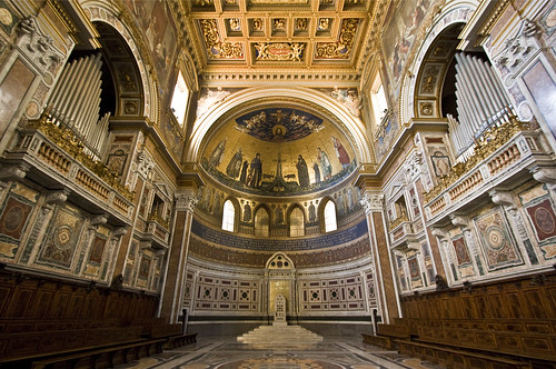 The Lateran Apse by Lawrence OP, on Flickr