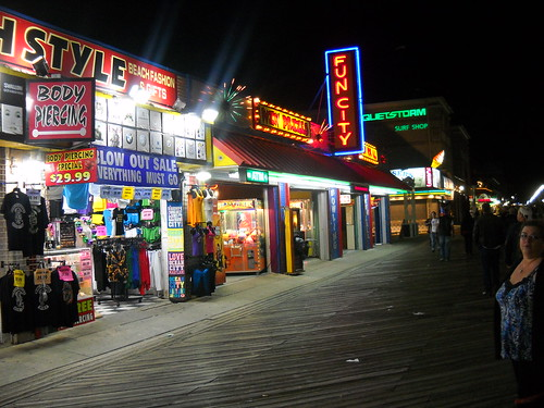 OC needs to put titles in the flickr account - ocean city md. boardwalk