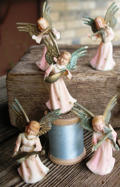 Small Vintage Pink Angel Band