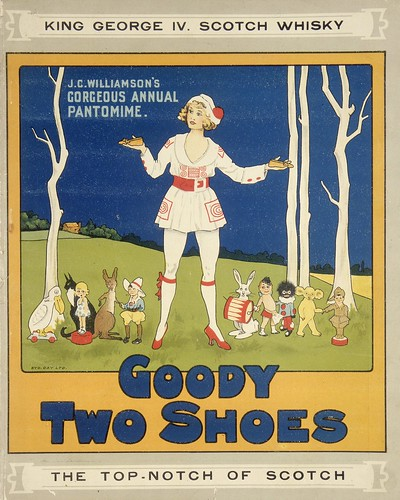 Goody Two Shoes; J. C. Williamson's gorgeous annual pantomime. 1919.