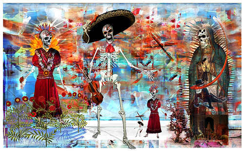 dias de los muertos (apparition) by Stephen R Mingle /Gonzo®