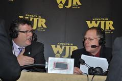 Dan Gilmartin and John Bebow on News Talk 760 WJR