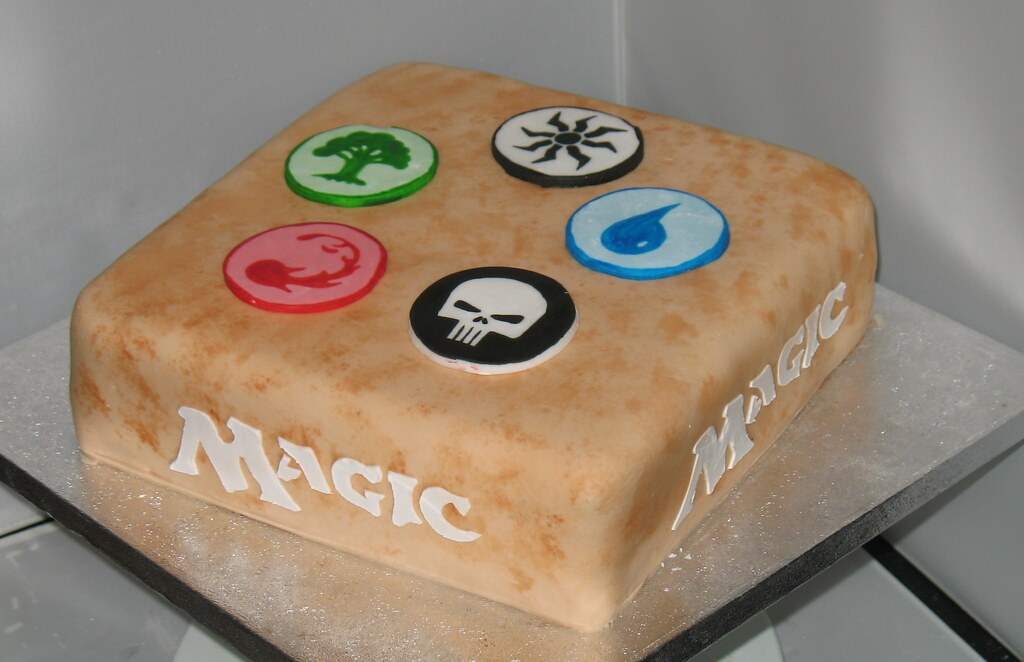 Magic The Gathering Cake A Photo On Flickriver