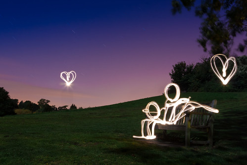Love At First Light (Light Painting), Kent