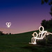 Love At First Light (Light Painting), Kent by flatworldsedge