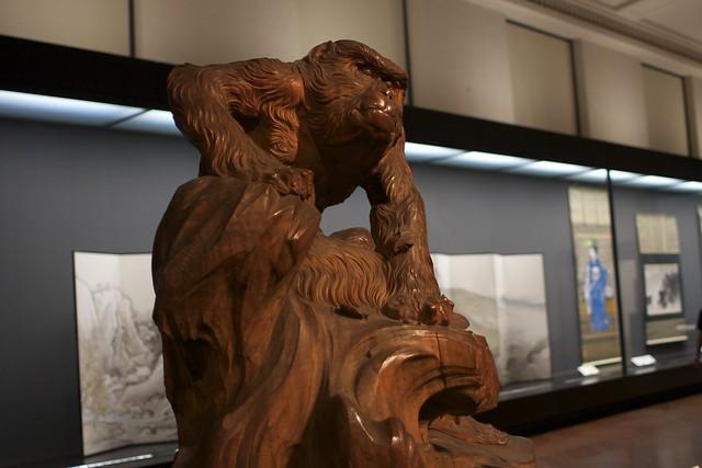 老猿 高村光云作 明治26年 1893 重文 东京国立博物馆
