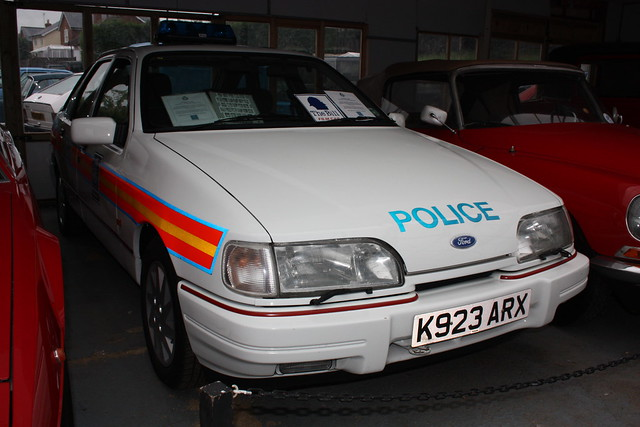 1992 Ford Sierra 2.0 GLS Police car