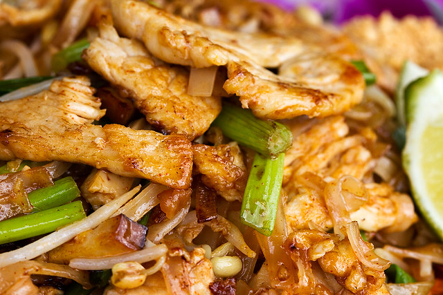 Pad Thai with Chicken | Flickr - Photo Sharing!