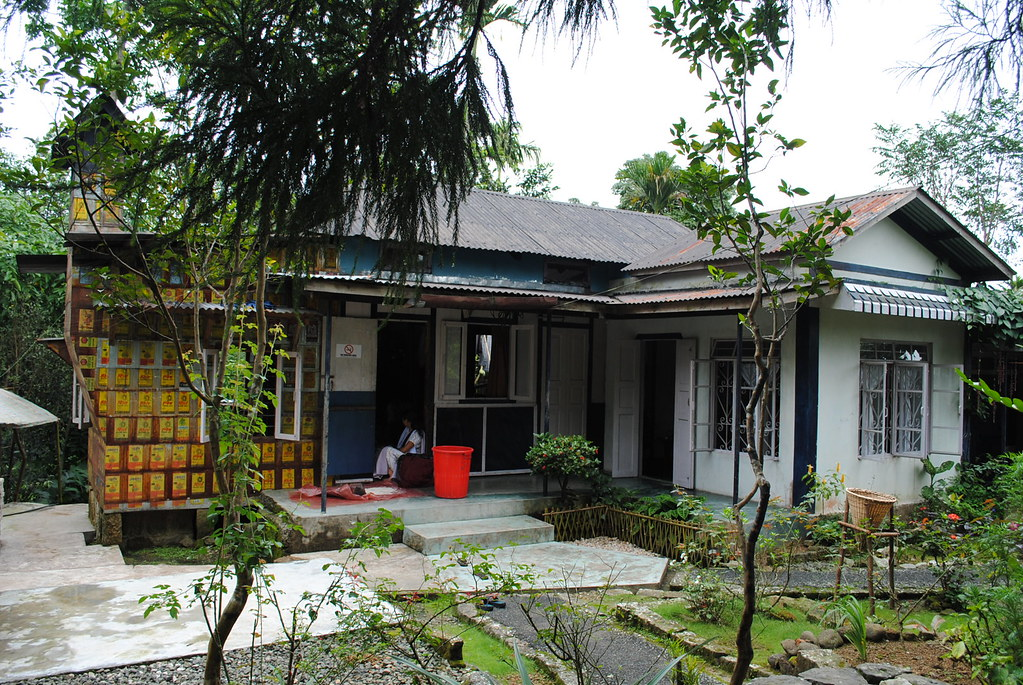 A house in Mawlynnong