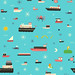 Strange Seas repeat pattern (details) by Greg Pizzoli