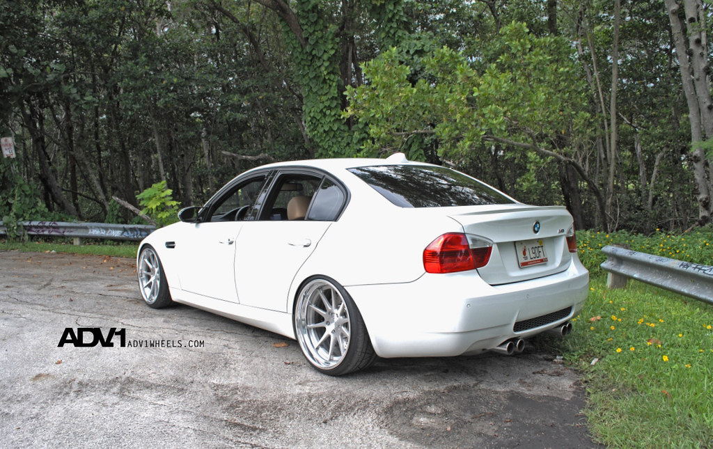 Bmw E90 M3 On The New Adv10 Track Spec Forged Wheels By Adv 1 A