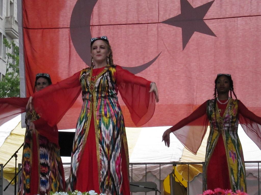 Silk Road Dance Company, Uzbek Dance, 2010 ATA-DC Turkish