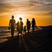 Sunset Stroll by ChloZoFoto