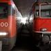 Locomotives at Hauptbahnhof by Marcin Wichary