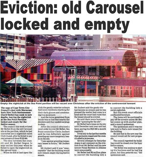 Eviction of Old Carousel