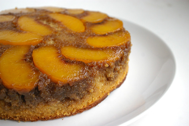 Peach Upside Down Cake II | Flickr - Photo Sharing!