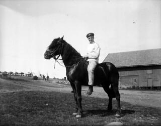 Rytter til hest / Rider on a horse (ca. 1903)