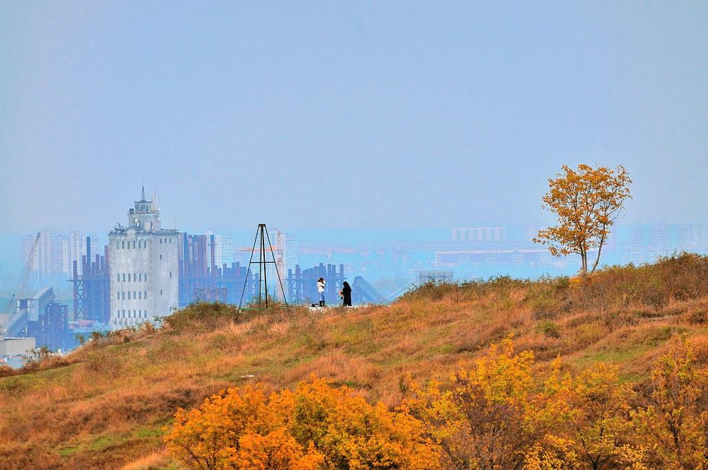 Autumn in Kiev.