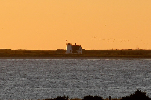 lighthouse sunrise capecod chathamma forestbeachconservationarea