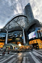 The stunning architecture of Ion Orchard #1.