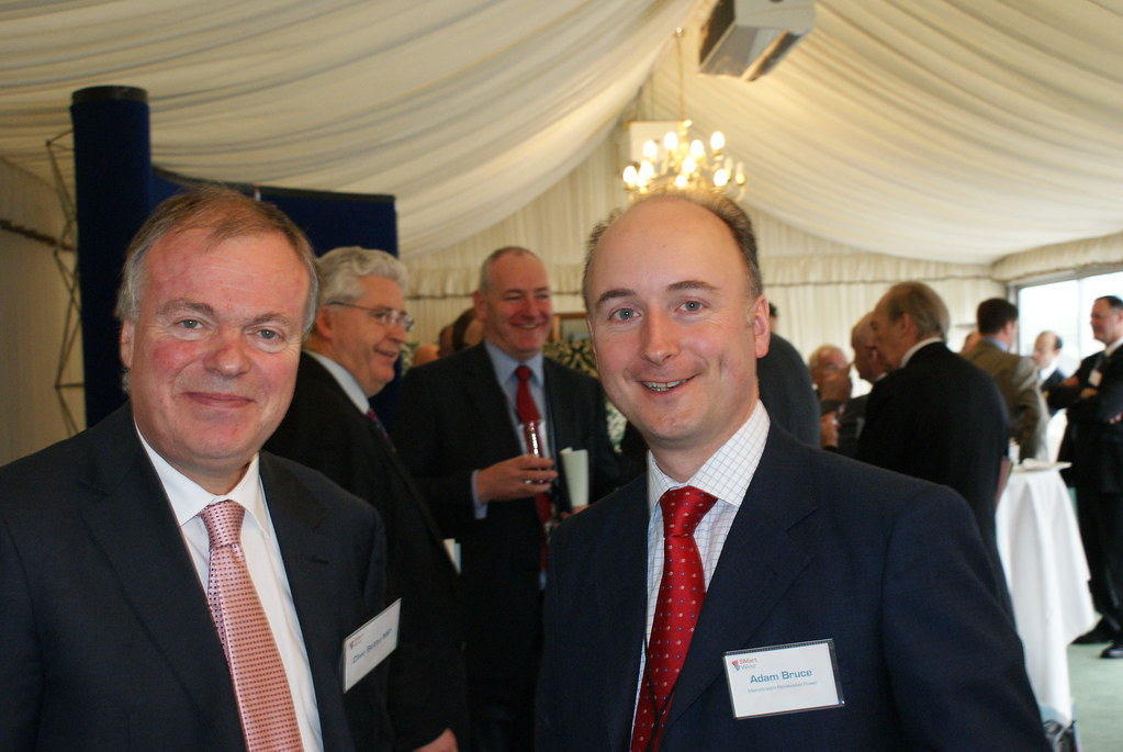 Clive Betts MP and Adam Bruce