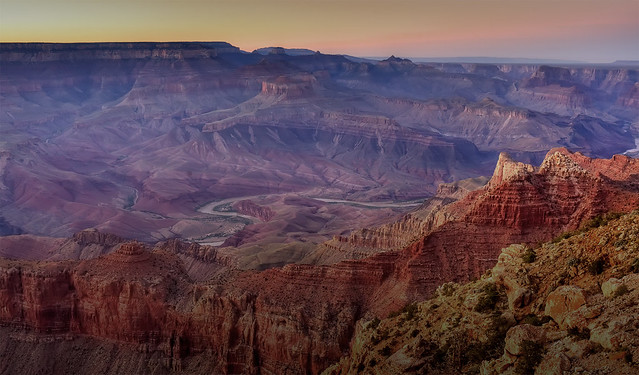 The Canyon at Dusk