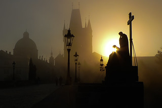 The Charles Bridge - details