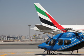 Bell 429 with Emirates Air Line