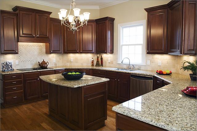 Venetian Gold Countertops Kitchen