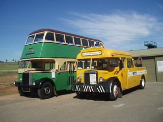 1951 Leyland Titan OPD2/1 double decker bus & 1949 Leyland Tiger OPS4/1 tow truck