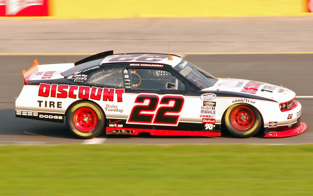 Brad Keselowski - NASCAR Nationwide Series at Charlotte