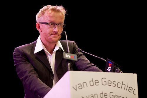 David Van Reybrouck wint de Libris Geschiedenis Prijs op de Nacht van de Geschiedenis