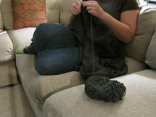 Gratitude Day 7: knitting